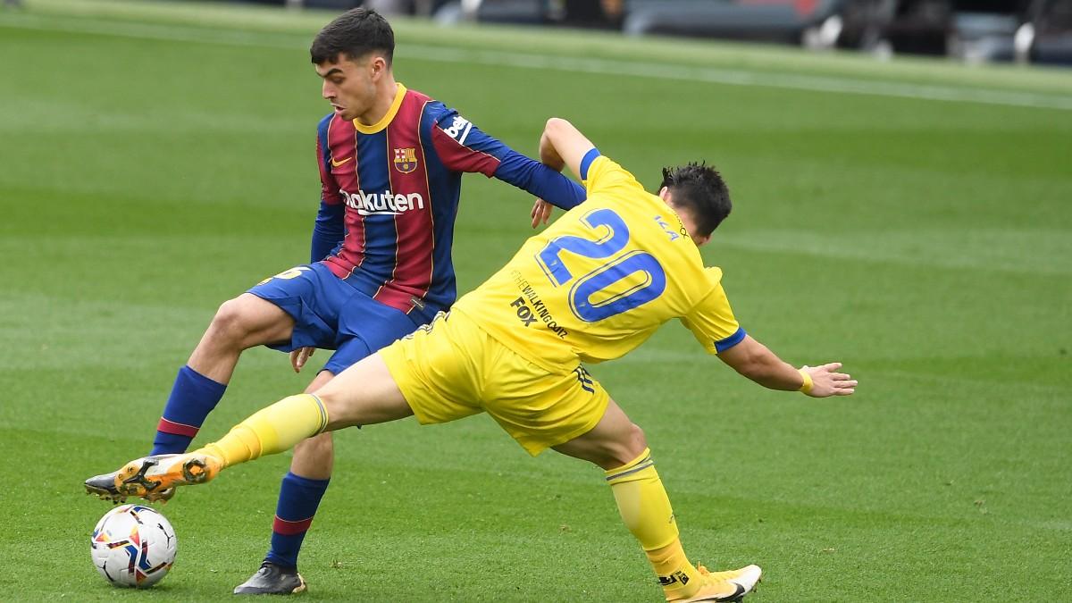 Resultado FC Barcelona - Cádiz: resumen y goles del partido de Liga  Santander hoy, en directo (1-1)