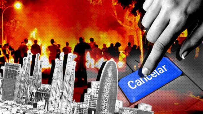 Las agencias de viajes ya alertan sobre cancelaciones de viajes a Cataluña por los disturbios