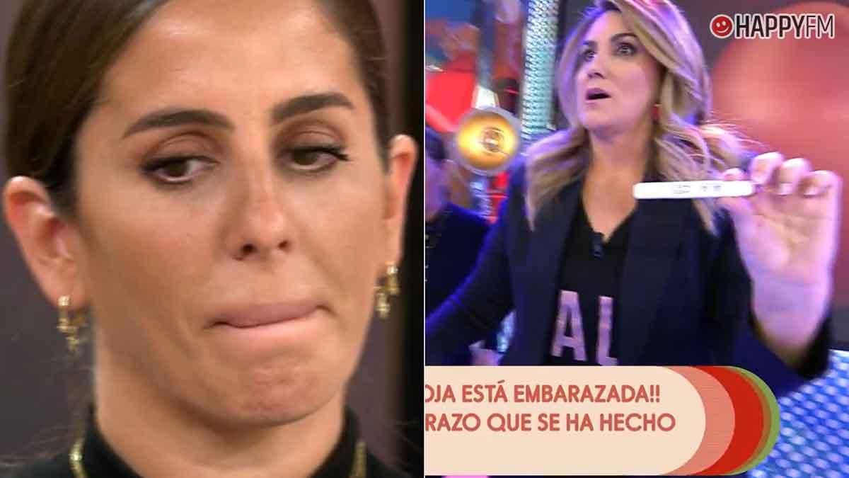 Anabel Pantoja se somete a un test de embarazo en directo en 'Sálvame' y el resultado «deja a España sin palabras»