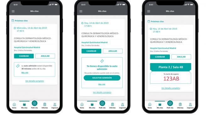 El portal para pacientes 'MiQuirónsalud' supera los 3 millones de usuarios