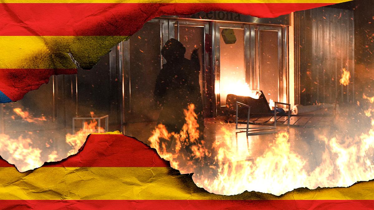 Los nuevos destrozos en Cataluña golpean el turismo.