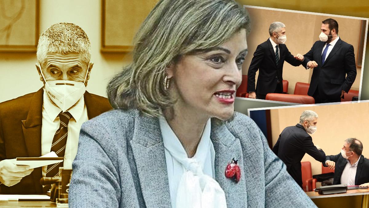 La presidenta socialista de la Comisión de Interior del Congreso, Ana Botella