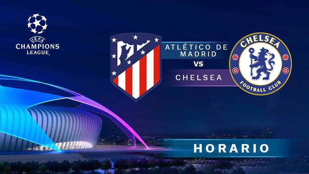Champions League 2020-2021: Atlético de Madrid – Chelsea | Horario del partido de la Champions League.