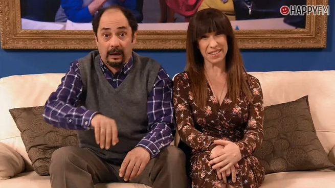 Jordi Sánchez y Nathalie Seseña