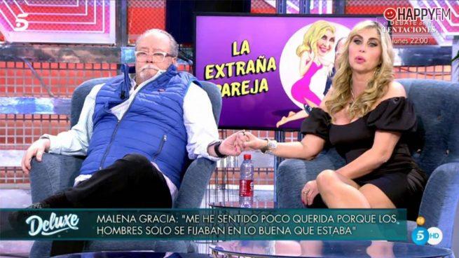 Malena Gracia y Arévalo en 'Sábado Deluxe'