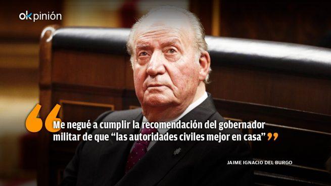 Don Juan Carlos, salvador de la democracia