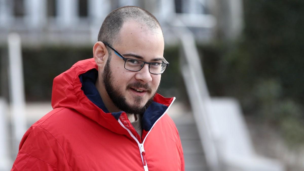 El rapero Pablo Hasél, condenado por enaltecimiento del terrorismo e injurias a la Corona. (Foto: Europa Press)