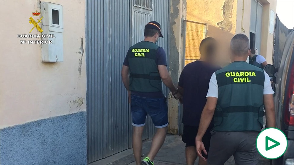 Operación Terciaria de la Guardia Civil de Almería.