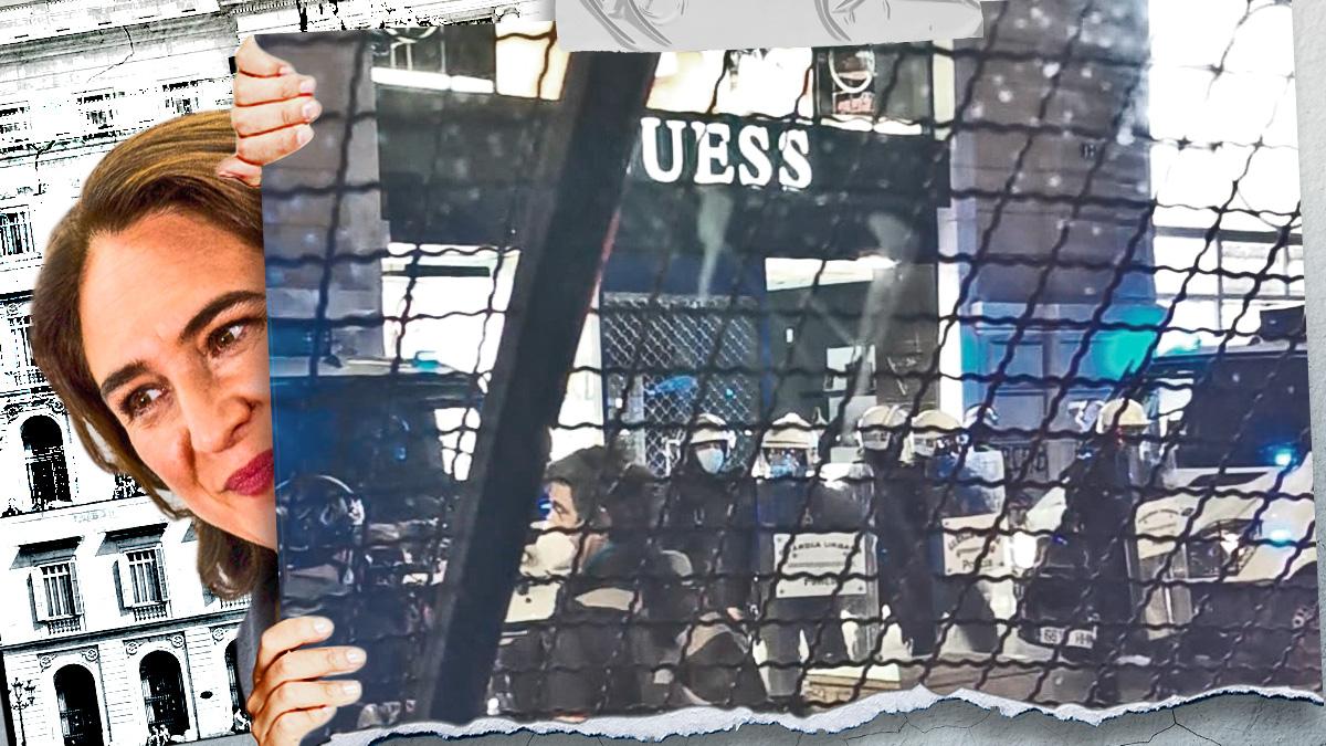 Miembros de los antidisturbios de Guardia Urbana denuncian haber sido infrautilizados en los disturbios por Hasél.