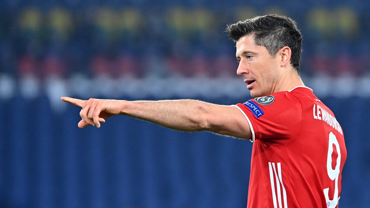 El Bayern encarriló la eliminatoria contra el Bayern en la primera parte. (AFP)
