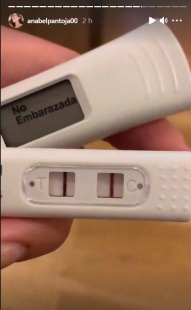 Anabel Pantoja se realizó dos nuevos test de embarazo tras lo sucedido en Sálvame'