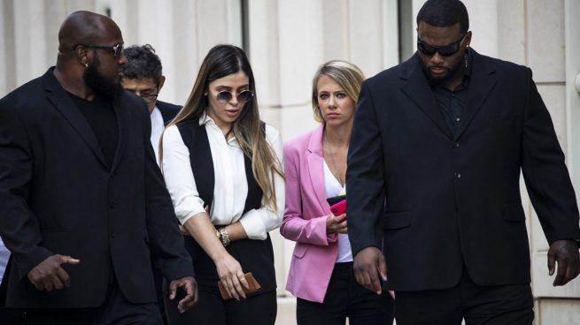 Emma Coronel, la mujer de 'El Chapo' Guzmán, detenida en Washington (Foto: AFP)