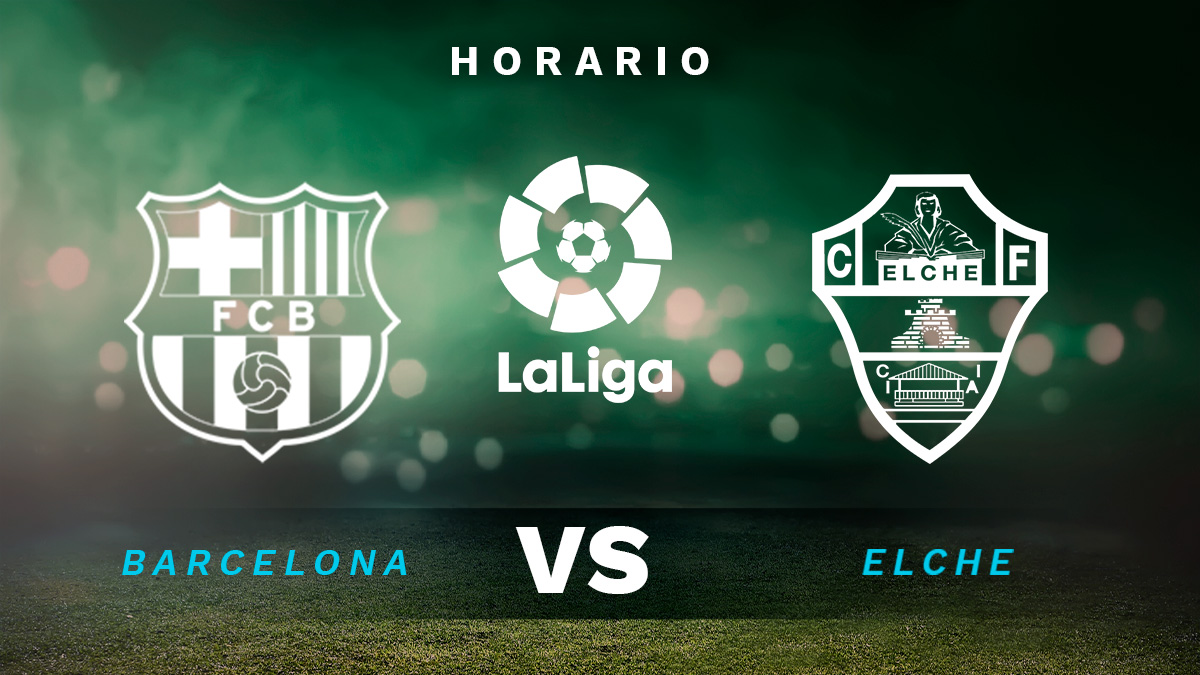 Barcelona – Elche: partido de la Liga Santander.