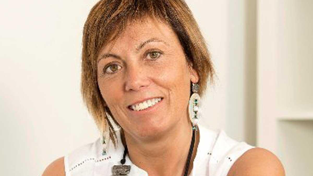 La ex portavoz de Bildu en Vitoria, Miren Larrion, investigada por la Ertzaintza. Foto: Twitter