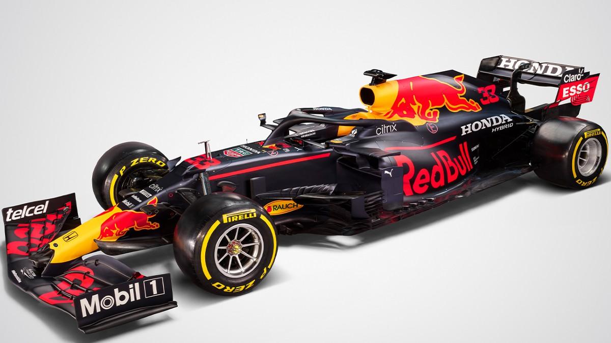 Así es el RB16B, el nuevo coche de Red Bull para 2021.