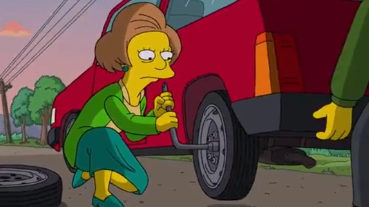 Este es el sentido homenaje en Twitter a la señorita Krabappel de 'Los Simpson'
