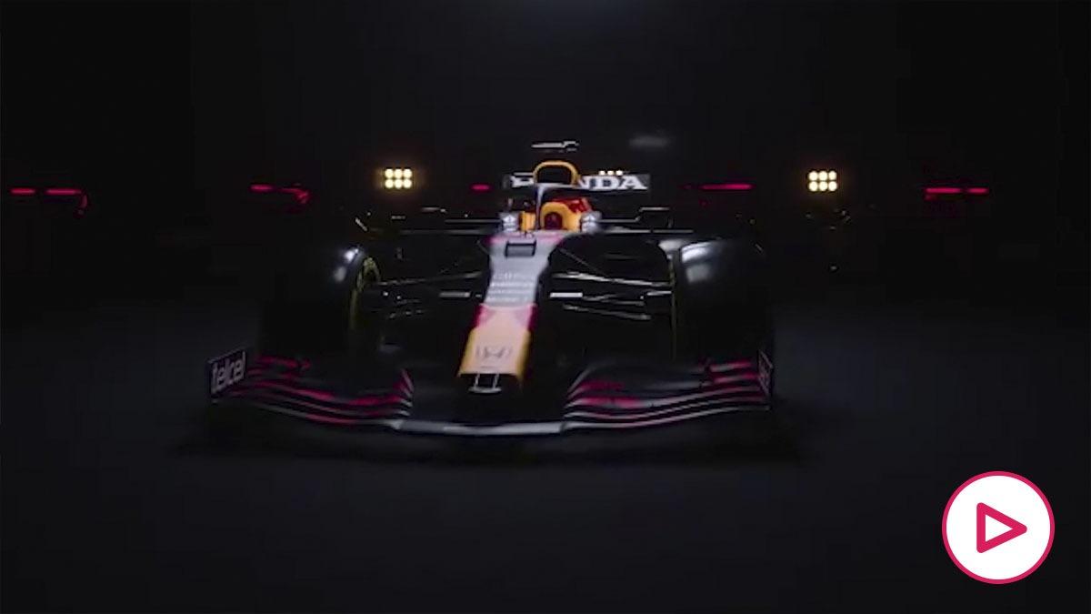 Así es el RB16B, el espectacular nuevo monoplaza de Red Bull.