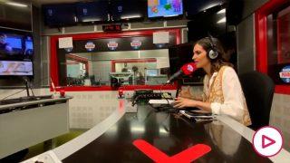 Sara Carbonero en el momento en el que se emocionó (Vídeo: Radio Marca)