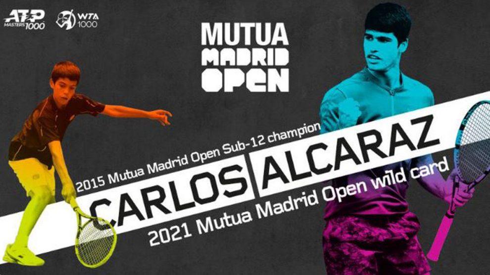 Carlos Alcaraz recibe la invitación del Mutua Madrid Open (Mutua Madrid Open)
