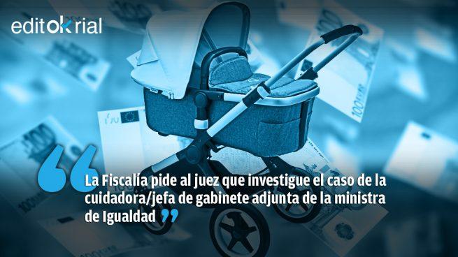 La niñera de Irene Montero, la mejor pagada de España (con dinero público)