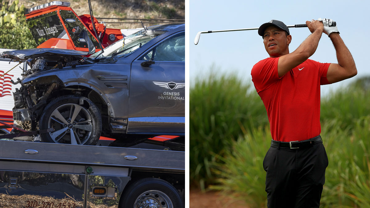 El exceso de velocidad, la principal causa del accidente de Tiger Woods (Getty)