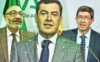 Vox amenaza con dinamitar el Gobierno andaluz PP-Cs si no se implanta el pin parental.