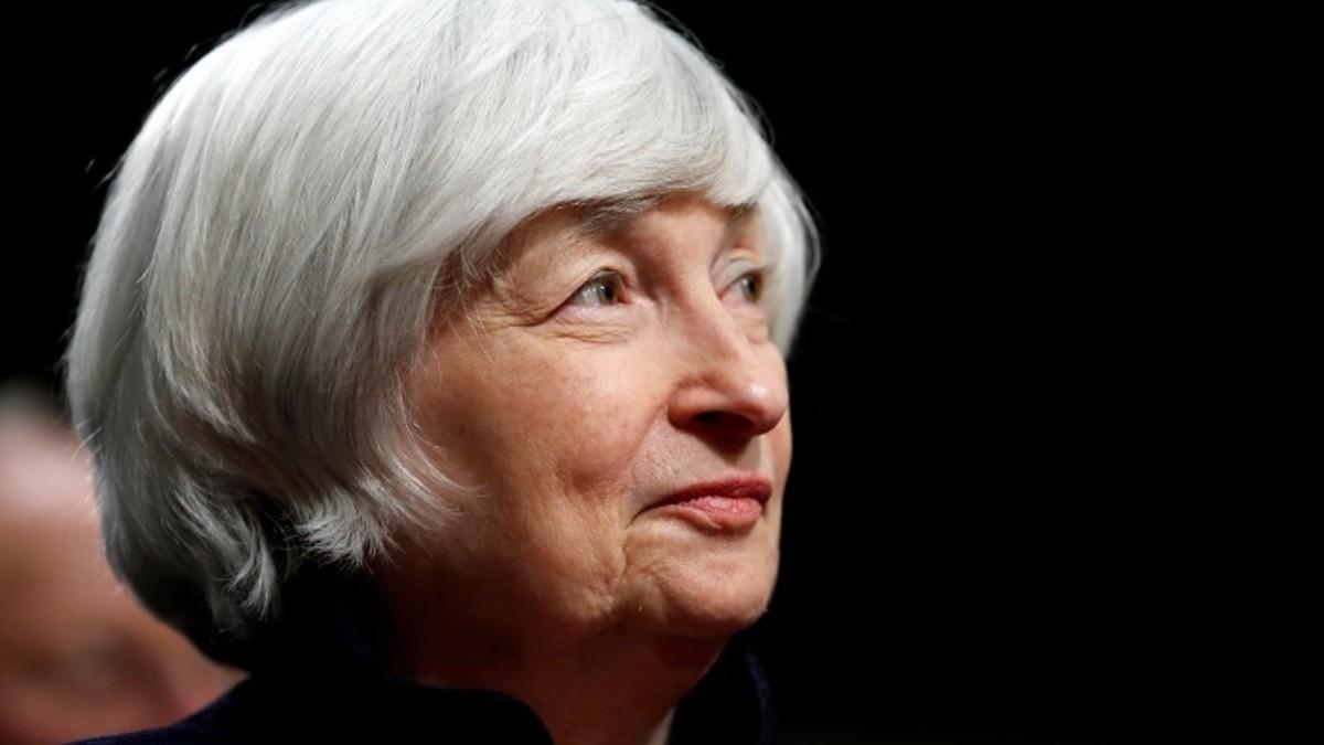 La secretaria del Departamento del Tesoro de EEUU, Janet Yellen