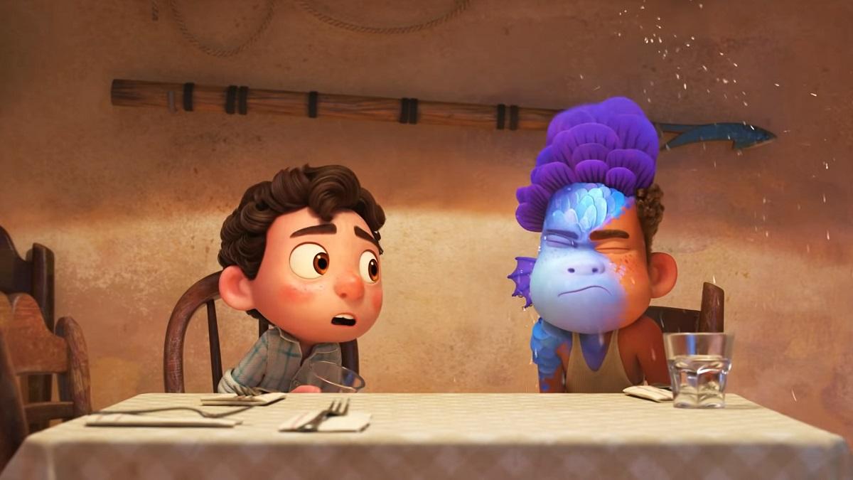 'Luca', la nueva película de Pixar (Fotograma del tráiler de 'Luca' Disney – Pixar)