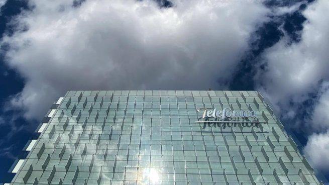 Sede de Telefónica, en la Ronda de la Comunicación de Madrid