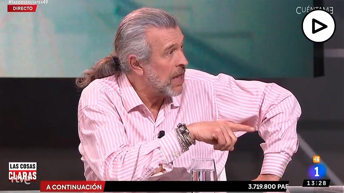 El consejero podemita de RTVE Martín Medem: «Vox es una amenaza para la democracia»