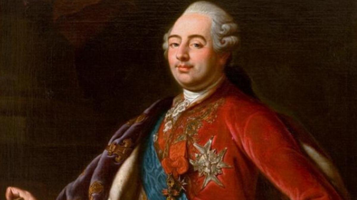 El rey Luis XVI de Francia