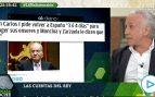 Inda: «La segunda regularización de Juan Carlos I pone mucho más difícil su regreso a España»
