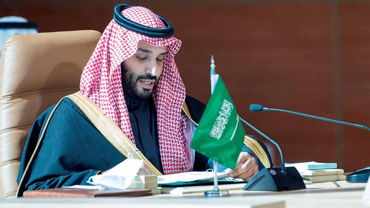 El príncipe heredero saudí Mohammed bin Salman. Foto: EP