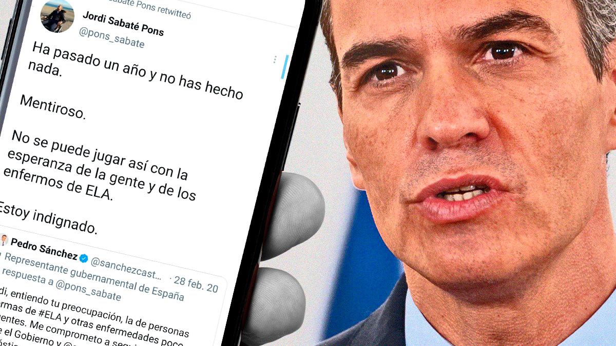 La contestación de Jordi Sabaté a Pedro Sánchez.