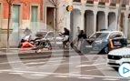 calle serrano madrid policia ladrones