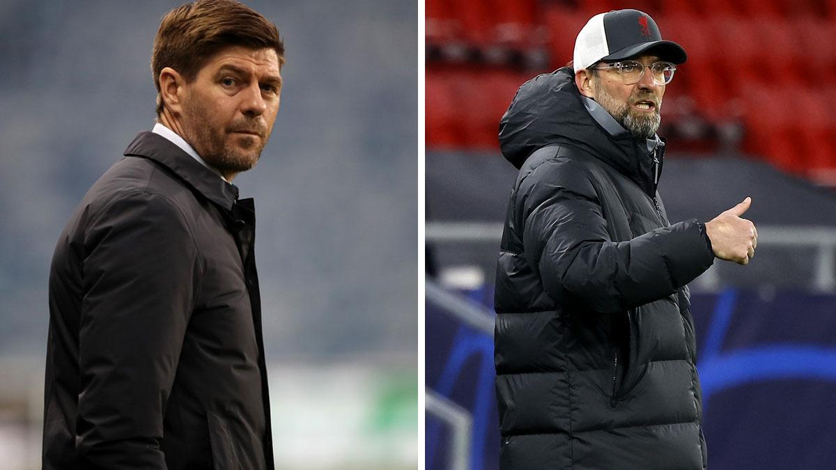El Liverpool piensa en Gerrard como futuro sustituto de Klopp (AFP)