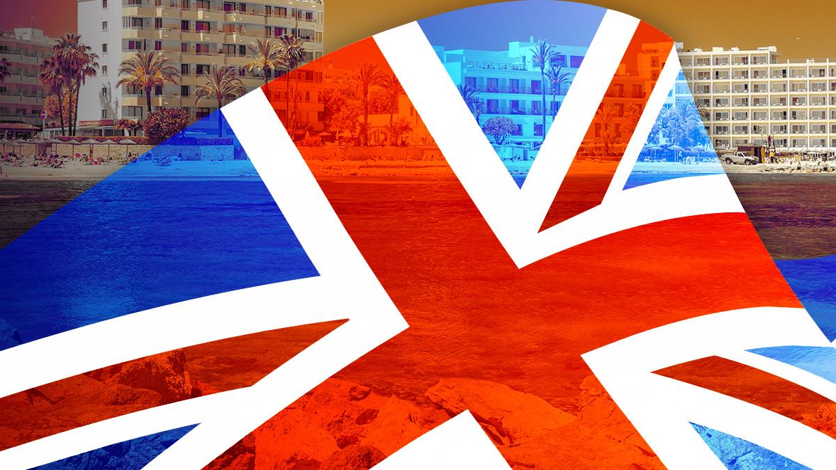 Turismo británico a Baleares