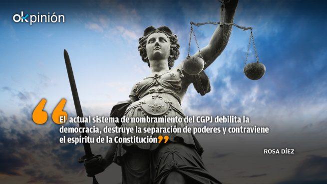 ¡Saquen las manos de la Justicia!