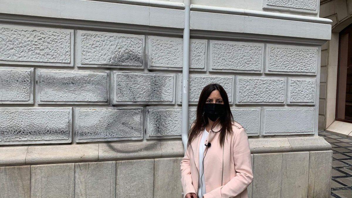 Vox pide contundencia en Granada contra los pinta-pollas grafiteros.