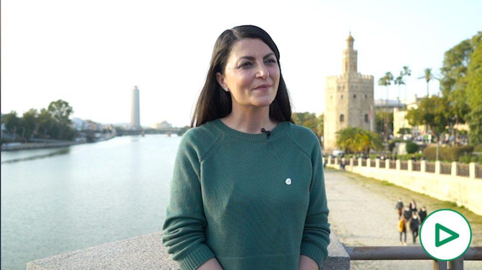 Macarena Olona, portavoz de Vox en el Congreso de los Diputados.