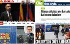 La prensa internacional alucina el 'Barçagate': «Escándalo mundial»