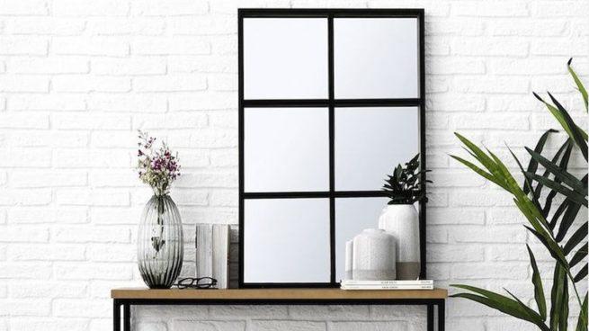 Cómo hacer un espejo con forma de ventana o de cuarterones