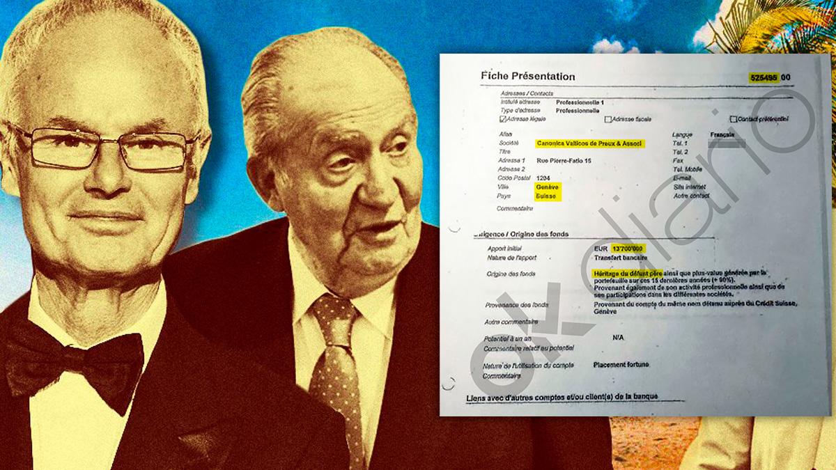 """Orleans justificó ante el banco los fondos de Zagatka como parte de la herencia de su """"difunto padre"""""""
