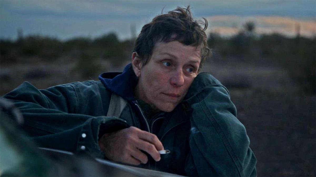 Frances McDormand protagoniza Nomadland.