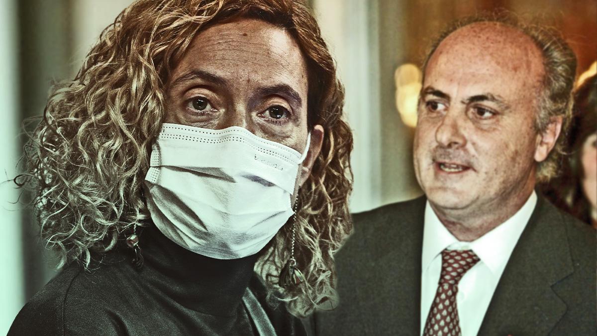 Meritxell Batet y Manuel García-Castellón