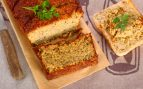 Receta de pastel de tofú y berenjenas