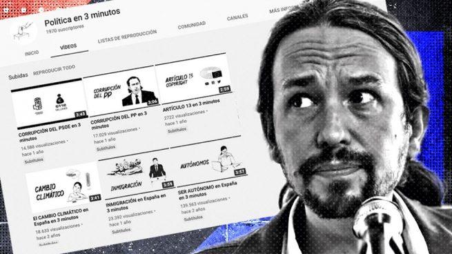 Pablo Iglesias y los vídeos contratados a un youtuber.