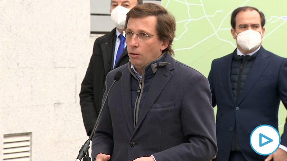 José Luis Martínez-Almeida sobre los datos del paro: «El único lugar donde no ha aumentado es en el Consejo de Ministros».