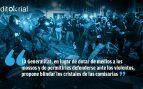 Solución 'indepe' al terrorismo callejero: blindar las comisarías