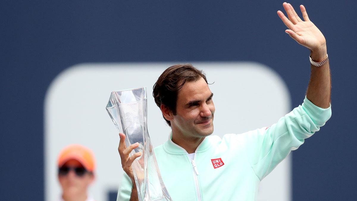 El Masters 1000 de Miami no contará con su último campeón, Roger Federer (Getty)